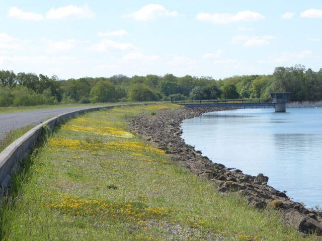 Verhad deel fietstocht rond Lac de Madine