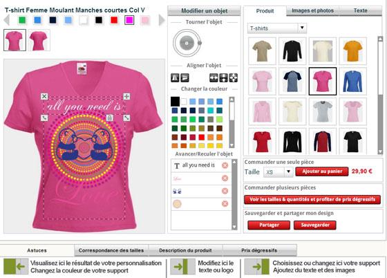 T Shirt Maker App