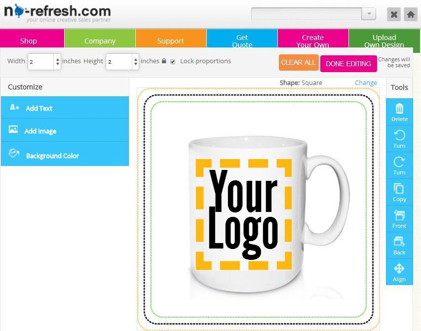 Custom Online Mug/ Cup Design Tool: Pump Up Your Sales ...