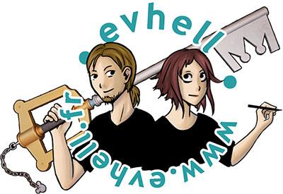 logo evhell fanzine