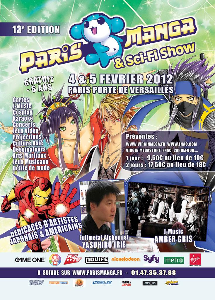 Convention Paris Manga 13   PM février 2012   Fanzine No-Xice© Nantes
