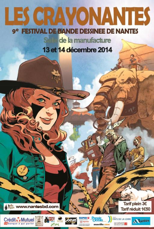 Atelier manga au festival CrayoNantes 2014 à la Manufacture à Nantes, No-Xicien, No-Xicienne