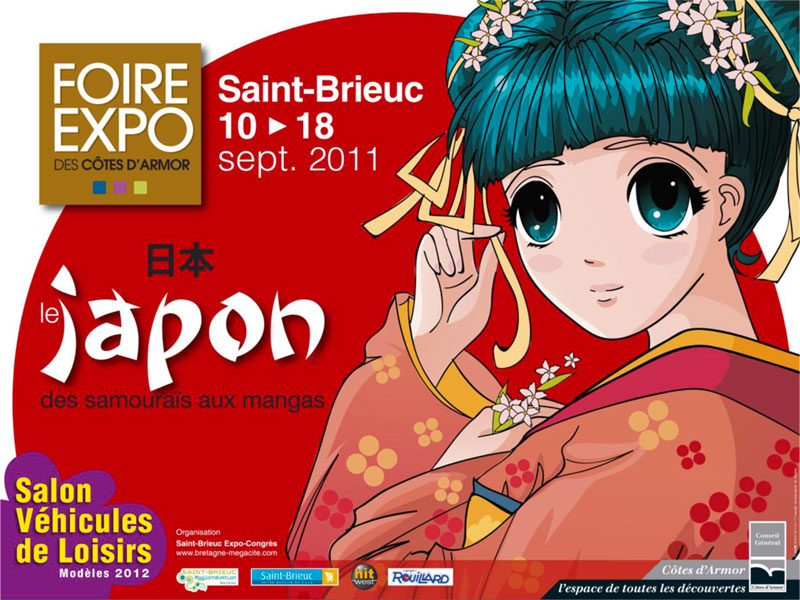 Conférence manga foire-expo de Saint-Brieuc par No-Xice©