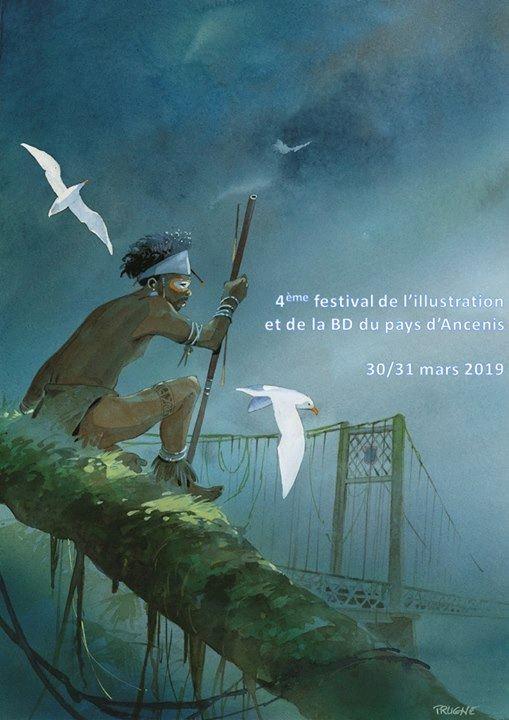 Ancenis BD 2019 festival illustration COMPA