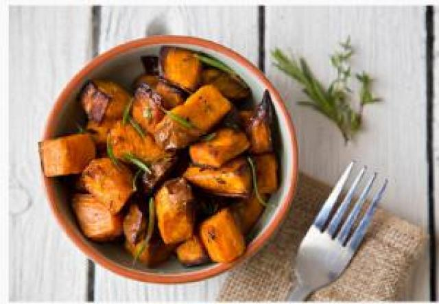 Fried sweet potato is good for health
