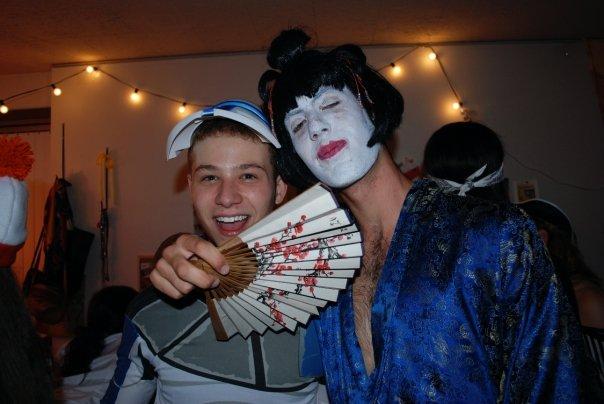 Noah as Geisha Halloween 2009