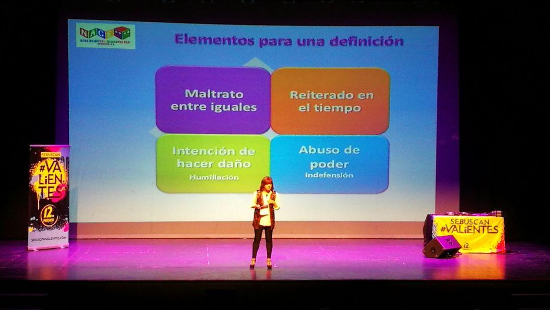 Carmen Cabestany habla sobre el acoso escolar