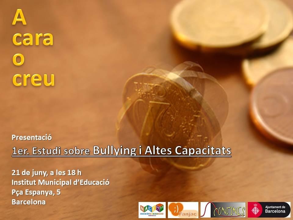Presentació del primer estudi de Catalunya sobre l'incidència de l'assetjament escolar en alumnes amb altes capacitats