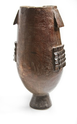 Ithunga, a Zulu Milk Pail with Geometric Design, South Africa