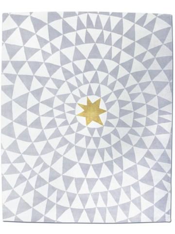 Wa in Yellow Star, 10 ft. x 14 ft.