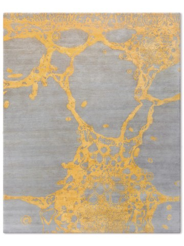 Eden in Gold, 10 ft. x 14 ft.