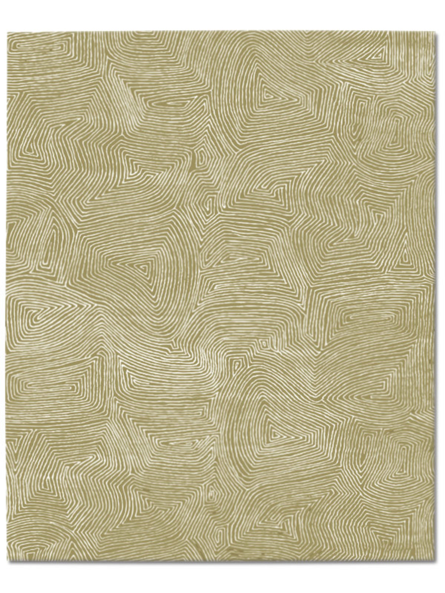 Maze in Rattan, 8 ft. x 10 ft.