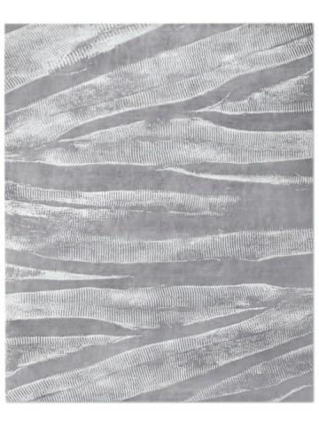 Ebu in Silver, 9 ft. x 12 ft.