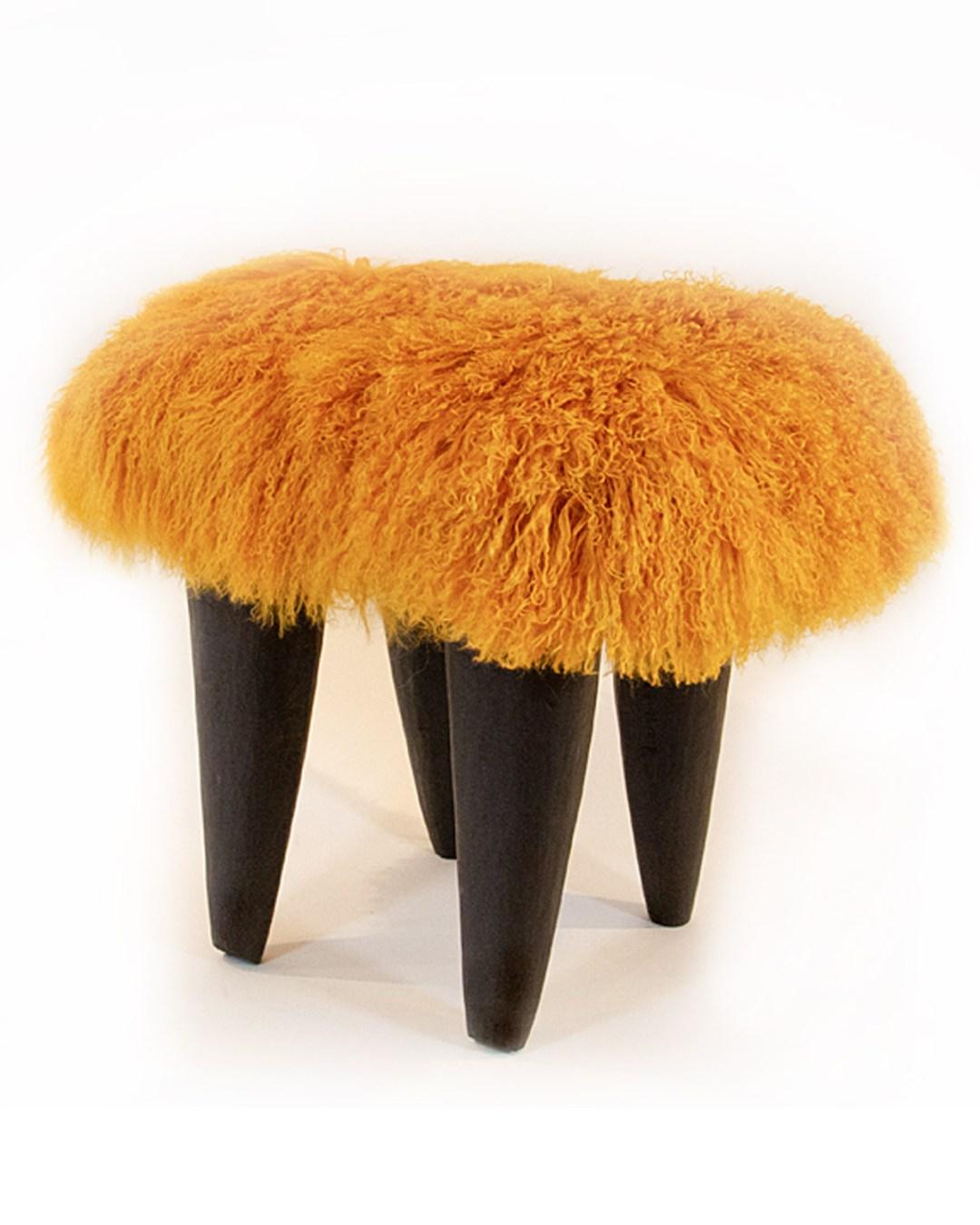 FUFU, Aubergine with Deep Anthracite legs