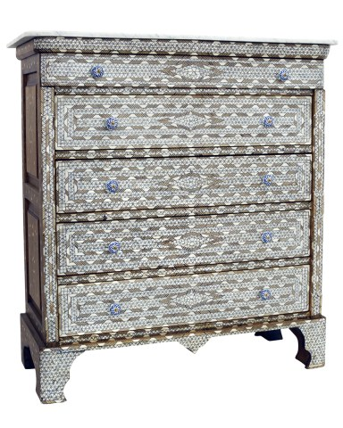 Mother-of-Pearl Inlaid Dresser