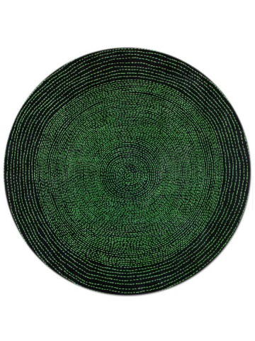 Orbita in Emerald, 8 ft. x 8 ft.round