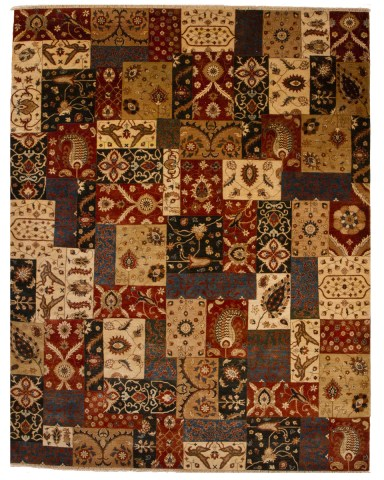 Collage of Rugs patterns