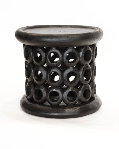 AFRICAN SPIDER BAMILIKI STOOL TABLE
