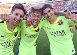 17-05-2015-08-05-03-na-comemoracao-do-titulo-espanhol-messi-posta-foto-com-neymar-e-suarez--campeoes