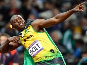 Usain Bolt é o homem mais rápido do mundo e o maior nome do atletismo de todos os tempos.