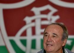 Fluminense apresenta técnico Levir Culpi