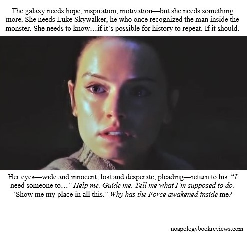 Your Greatest Weakness – Rey's Second Lesson from Luke and
