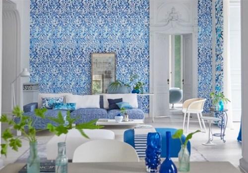 Papeles pintados y telas categories nobel muebles - Designers guild telas ...