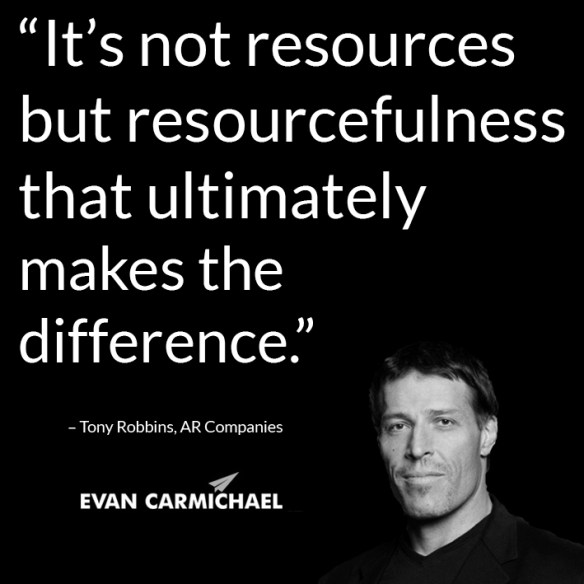 Resourcefullness entrepreneur