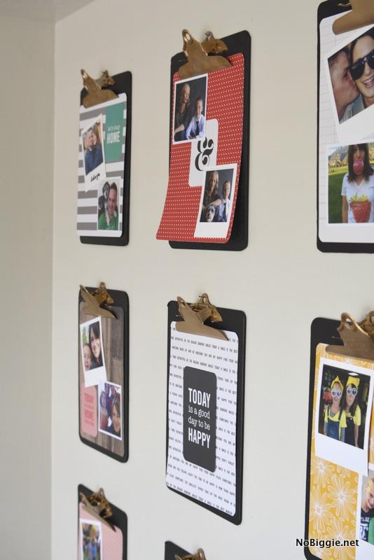 clipboard wall | NoBiggie.net