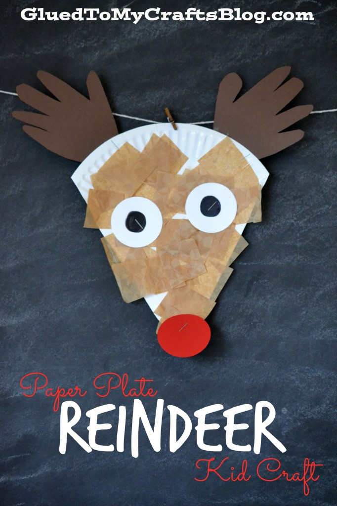 14 Cute Christmas Reindeer Craft And Food Ideas Kids Will
