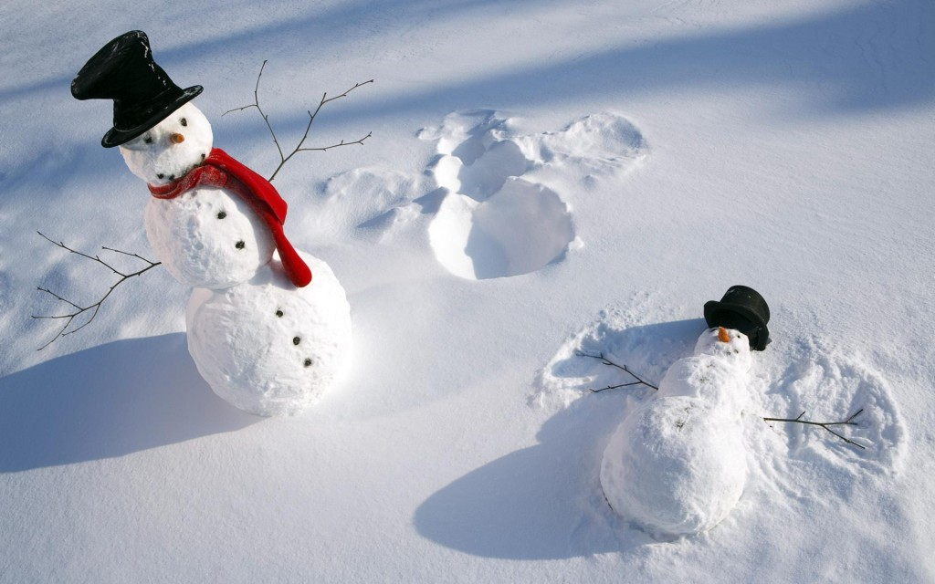 25 Creative Snow Creations