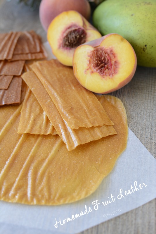 Homemade Fruit Roll-ups | 25+ Gluten Free and Dairy Free Desserts