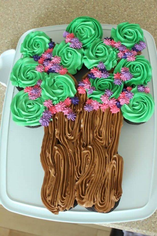 25 Cupcake Birthday Cake Ideas Nobiggie