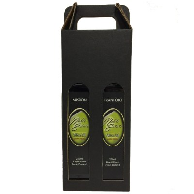 Mission and Frantoio Olive Oil Extra Virgin 2 x 250ml Gift Box
