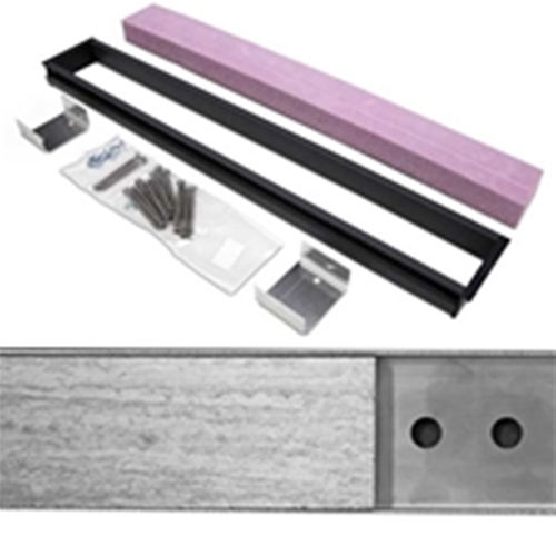 full mortar bed adapter kit for freestyle linear drains 36