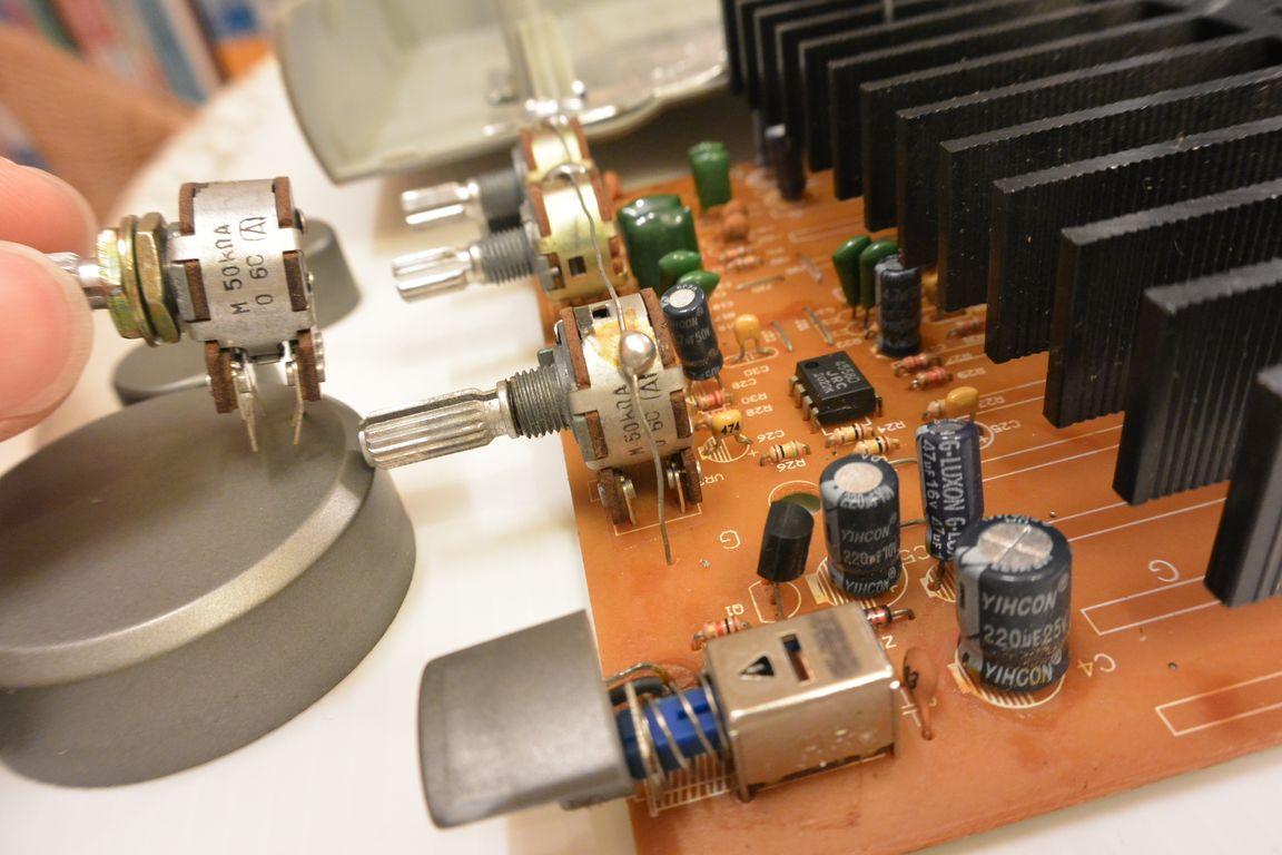 《夢想DIY》J-S 淇譽 J-7508 音響喇叭.音量調整鈕噪音維修.更換可變電阻 @ 夢想.勇氣.幸福初衷 :: 痞客邦