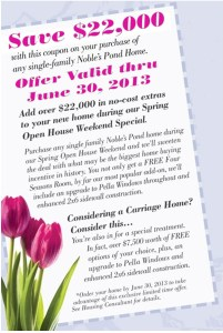 $22,000 off Noble's Pond's Single Family Homes