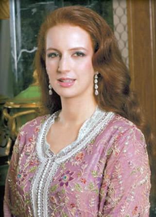 Les caftans de la princesse Lalla Salma du Maroc ...