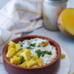 Mango and Coconut Overnight Oatmeal