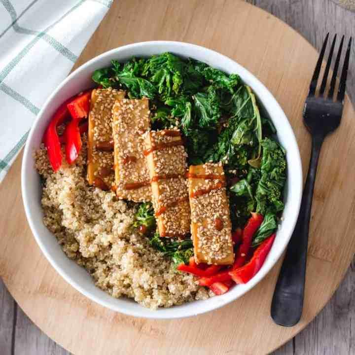 Easy Sesame Crusted Tofu
