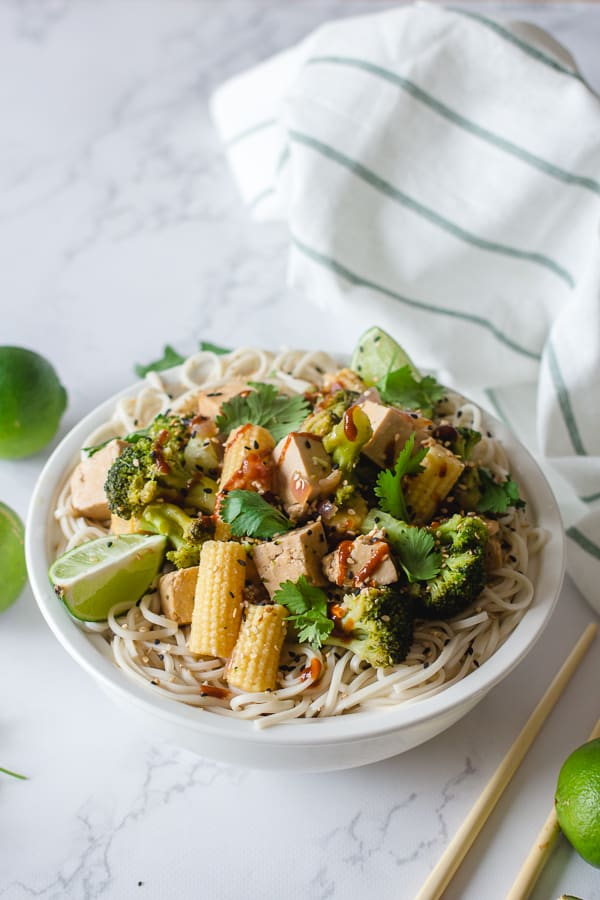 Asian Stir Fry in the Instant Pot