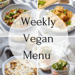 Weekly Vegan Menu