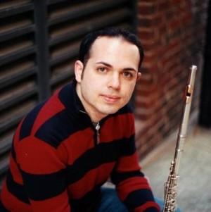 Zachariah Galatis, flute