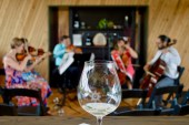 Wine and chamber music share center stage!