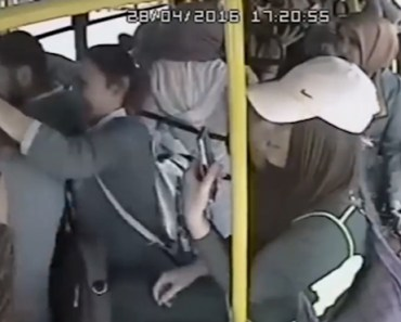 Creepy Perv Flashes His Junk on Bus Filled With Women, Lives to Regret It