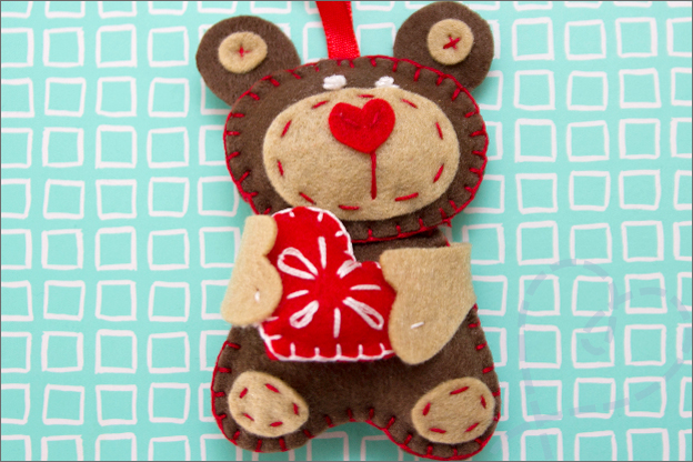 teddybeer vilt