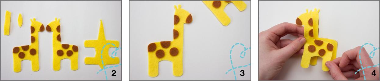vilt_giraffe_stap_voor_stap
