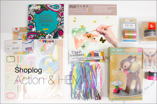 shoplog action hema