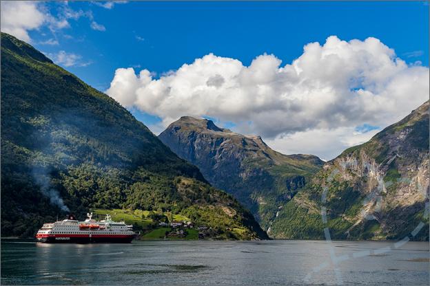 varen door de geirangerfjord noorwegen reisverslag