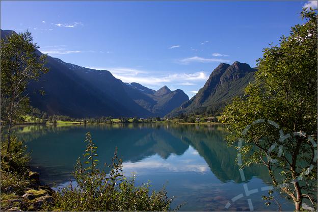 Noorwegen reisverslag Briksdal vallei